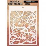 The Art Of Brett Weldele - Scribbles Stencil