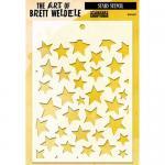 The Art Of Brett Weldele - Stars Stencil