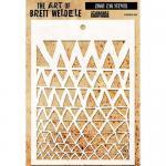The Art Of Brett Weldele - Ziggy Zag Stencil