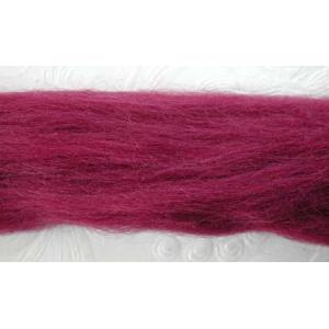 NZ Corriedale Wool - Raspberry