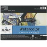 "Canson Watercolor Paper - 9"" x 12"" 90# Cold Pressed"
