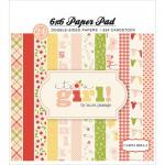 "Carta Bella 6"" x 6"" Paper Pad - It's a Girl [CBIG51015]"