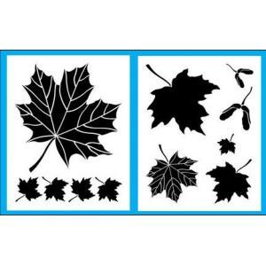 Cedar Canyon Stencils - Maple Leaves [CCT704]