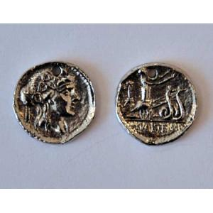 Charm: Coin - With Roman Face [4565]