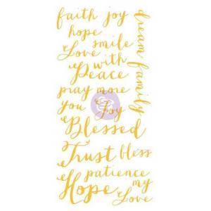 Christine Adolph Adhesive Rub Ons - Hope Words [971335]