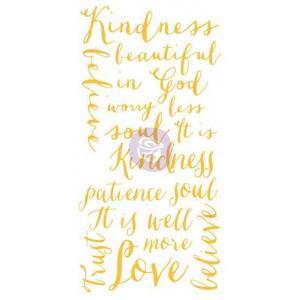 Christine Adolph Adhesive Rub Ons - Kindness Words [971403]