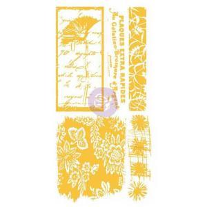 Christine Adolph Adhesive Rub Ons - Poppy Floral Script [971366]