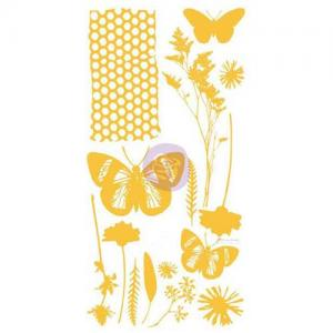 Christine Adolph Adhesive Rub Ons - Wildflowers and Butterflies [971427]