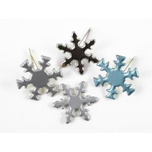 CIP Paper Fastener - Snowflake - Pearl [90652BPS]