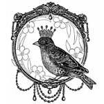Crafty Individuals Unmounted Rubber Stamps