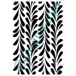 Joggles Stencils - Climbing Feathers [10-33790]