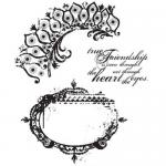 Stampers Anonymous/Tim Holtz Unmounted Rubber Stamps - [CMS018] Tattered Elements