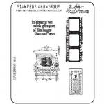Stampers Anonymous/Tim Holtz Unmounted Rubber Stamps - [CMS037] Captured Moments