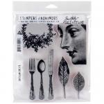 Stampers Anonymous/Tim Holtz Unmounted Rubber Stamps - [CMS179] Daydream