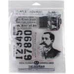 Stampers Anonymous/Tim Holtz Unmounted Rubber Stamps - [CMS187] Purveyor