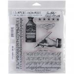 Stampers Anonymous/Tim Holtz Unmounted Rubber Stamps - [CMS188] Typography