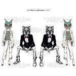 Joggles Collage Sheets - Anthropomorphic 2 [JG401120]