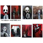 Joggles Collage Sheets - Ghoulish Portraits [JG401072]