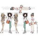 Joggles Collage Sheets - GirlIttude 2 [JG401119]