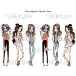 Joggles Collage Sheets - GirlIttude 1 [JG401117]