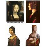 Joggles Collage Sheets - Leonardo's Ladies [JG401078]