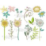 Joggles Collage Sheets - Summer Flowers 1 [JG401121]