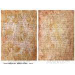 Joggles Collage Sheets - Vintage Letters [JG401114]