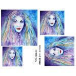 Joggles Collage Sheets - Watercolor Aimee [JG401036]