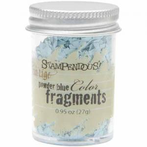 Stampendous Color Fragments - Powder Blue