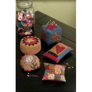 Cotton Way - Folk Art Pincushions [871]