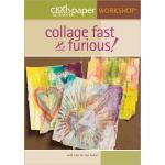 Cloth Paper Scissors Workshop DVD - Collage Fast & Furious with Julie Fei-Fan Balzer [10QM13]