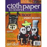 Cloth Paper Scissors - September/October 2009, Issue 26 - ON SALE!