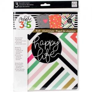 Create 365 Happy Planner™ Decorative Planner Covers - Happy Life [COVX-01]