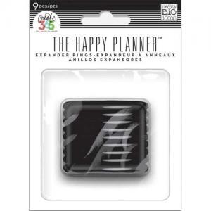 Create 365 Happy Planner™ Expander Rings - Black [RING-01]