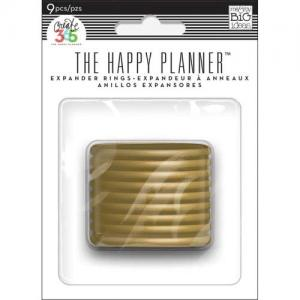 Create 365 Happy Planner™ Expander Rings - Gold [RING-02]