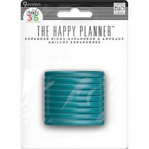 Create 365 Happy Planner™ Expander Rings - Teal [RING-09]