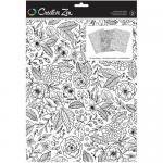 Creative Zen Coloring Folders - Floral [375667]