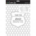 Creative Zen Coloring Folders - Travel [375672]