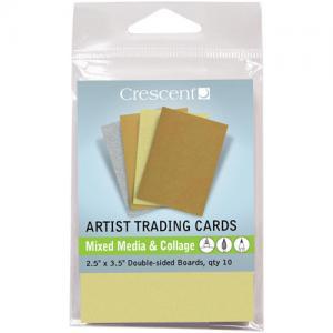 Crescent ATC Collection - Mixed Media and Collage Metallics [ATC26]