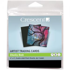 Crescent ATC Collection - Chunky Book Black Boards [ATC30]