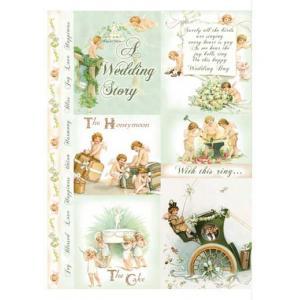 Homespun Cotton Scraps - Wedding [HCS-08]