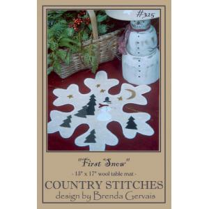 Country Stitches - First Snow [325]