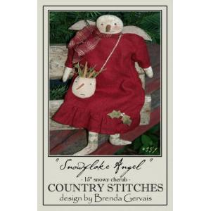 Country Stitches - Snowflake Angel [359]