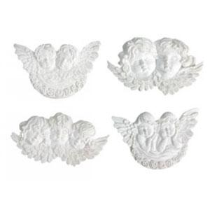 Melissa Frances - Resin Embellishments [CX863] Sweet Cherubs
