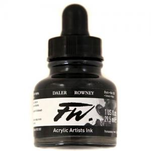 Daler Rowney FW Acrylic Ink - Black India