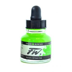 Daler Rowney FW Acrylic Ink - Fluorescent Green