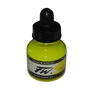Daler Rowney FW Acrylic Ink - Fluorescent Yellow