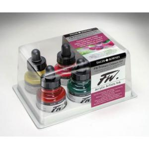 Daler Rowney FW Acrylic Ink Set - Primary Colours