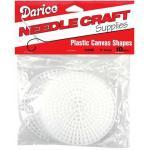 "Darice Plastic Canvas Shapes 3"" Round 10 Pk"