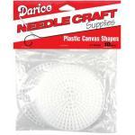 "Darice Plastic Canvas Shapes 4.5"" Round 10 Pk"